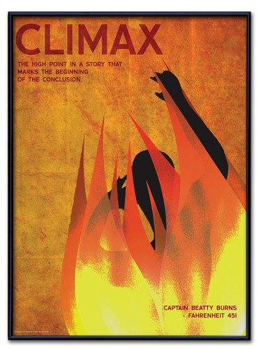 Climax Poster Framed
