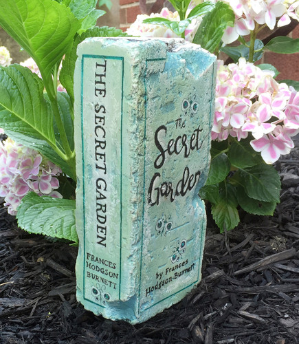The Secret Garden - Exclusive Artisan Hand-Painted Garden Bricks or Book End