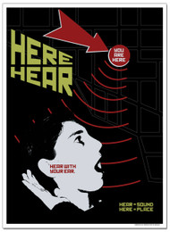 Hear/Here Language Arts Poster