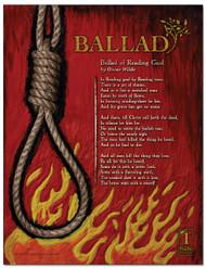 Ballad Literary Poster