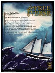 Free Verse Literary Poster