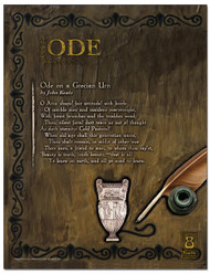 Ode Literary Poster