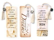 Motivational Classic Literary Quote Bookmarks