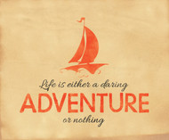 Daring Adventure Inspirational Poster