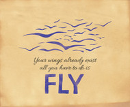 Fly Inspirational Poster