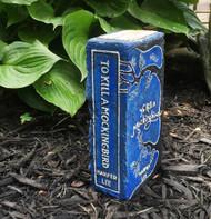 To Kill a Mockingbird - Exclusive Artisan Hand-Painted Garden Bricks or Book End