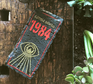 1984 - George Orwell Exclusive Artisan Hand-Painted Garden Bricks or Book End