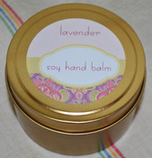 Soy Hand Balm, Lavender