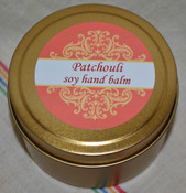 Soy Hand Balm, Patchouli