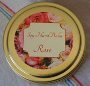 Soy Hand Balm, Rose