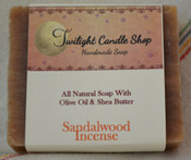 Handmade Natural Soap, Sandalwood Incense
