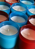 Summertime soy candles by Twilight Candle Shop
