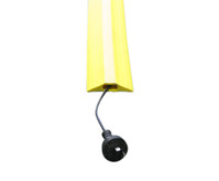 Tripsafe PVC Cable Cover for Hard Floors - Yellow