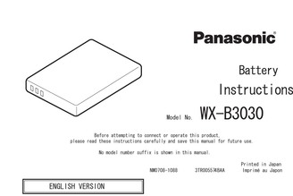 brochures & manuals - panasonicorder,Wiring diagram,Wiring Diagram Panasonic Wx Cc411
