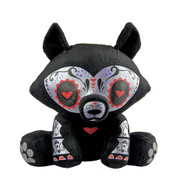 Skelanimals Day of the Dead Jae (Wolf) Mini Plush