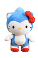 Sonic x Hello Kitty 10 inch Deluxe Plush