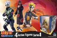 Naruto Shippuden Poseable Action Figures (Set of 3)