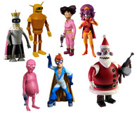 "Futurama ""Robot Santa Build-A-Bot"" Action Figure Set"