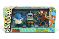 Futurama Tineez Series 1.2 Mini-Figure 3-pack