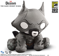 SDCC 2012 Exclusive DC Comics x Skelanimals The Dark Knight Rises Batman Jae Plush
