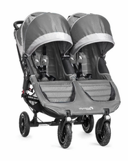 'Baby Jogger' City Mini GT Double- Steel Gray