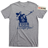 Four Touchdowns in a Single Game Polk High 33 T Shirt