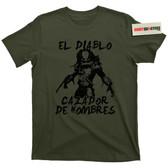 Predator 1987 El Diablo Cazador De Hombres T Shirt