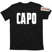 Mafia La Costra Nostra Mob Capo T Shirt