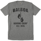 Rocky Balboa Boxing Camp Club Gym Workout Training Soft Tri Blend T Shirt