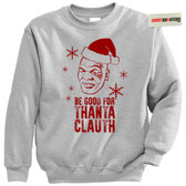 Mike Tyson Thanta Clauth Santa Claus Tacky XMAS Sweater Sweatshirt
