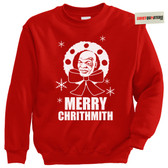 Merry Chrithmith Mike Tyson Tacky Ugly Christmas Sweater Sweatshirt
