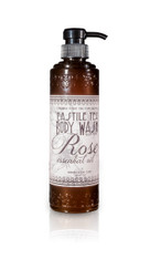 Castile Tea Body Wash blended with Rose essential oil.