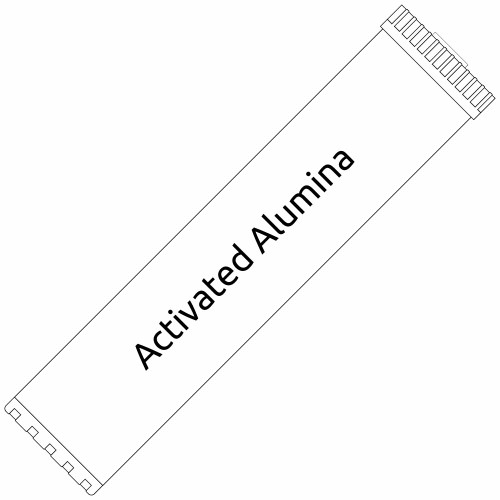 Big Blue 20-inch Activated Alumina Filter for Fluoride, Arsenic, and Lead