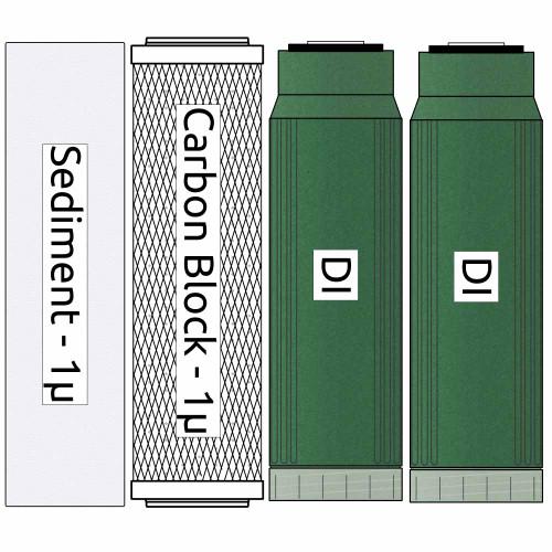 RO/DI Psarion Chi Reef Filter Kit (replaces UDIFK-2)