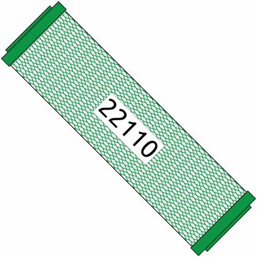 10-inch Green Carbon Filter for Small Boy 22110