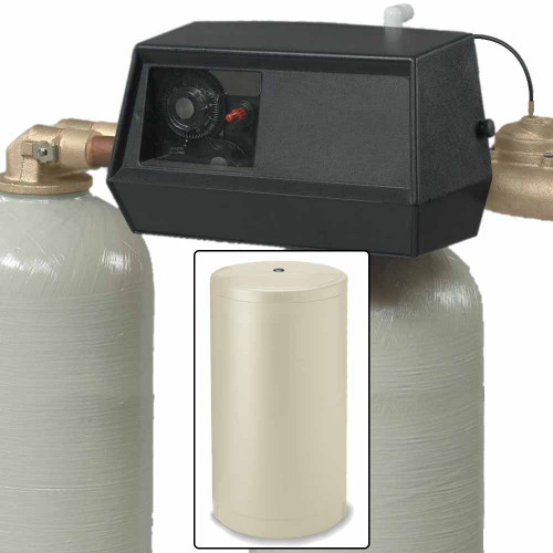 32k Dual Tank Alternating Water Softener with Fleck 9000