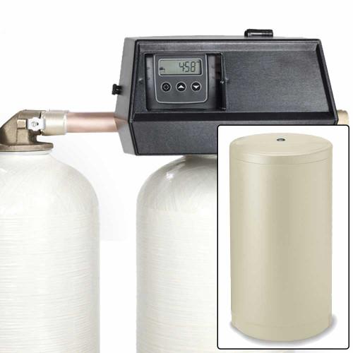 48k Digital Dual Tank Alternating Water Softener with Fleck 9000SXT