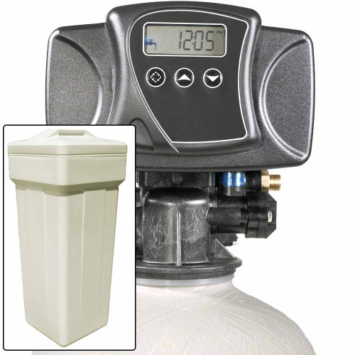 Water Pro 15 with Fleck 5600SXT Water Softener and Multi Media Filter for Iron, Sulfur, Tastes, & Odors