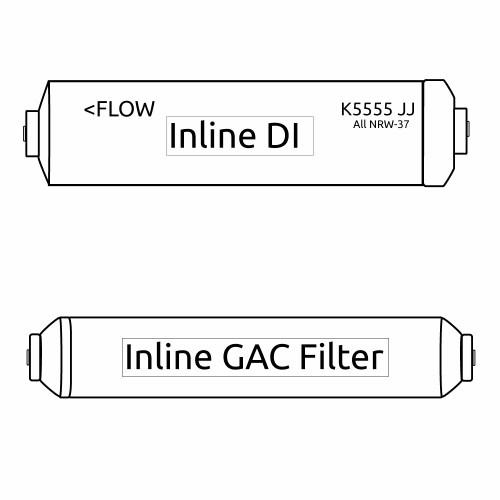 Portable RO Mikro Omega Filter Kit