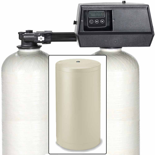 110k Digital Dual Alternating Tank Water Softener with Fleck 9100SXT