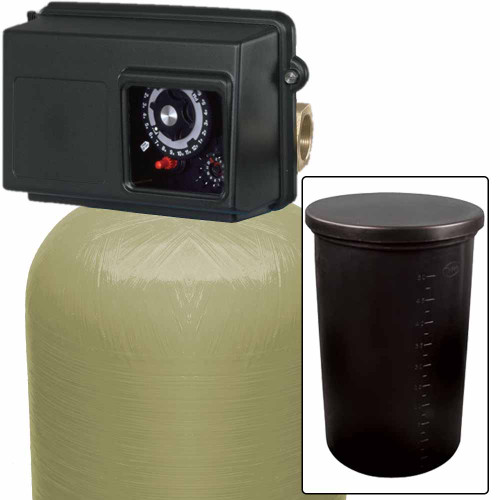 300k Commercial High Flow Water Softener with Fleck 2850 Timer