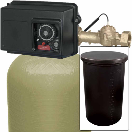 450k Commercial High Flow Metered Water Softener with Fleck 2850 On-Demand