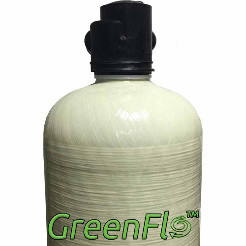 GreenFlo Bone Char Carbon 14 Upflow System - Reduces Fluoride, Radioactive Particles, and Toxic Metals