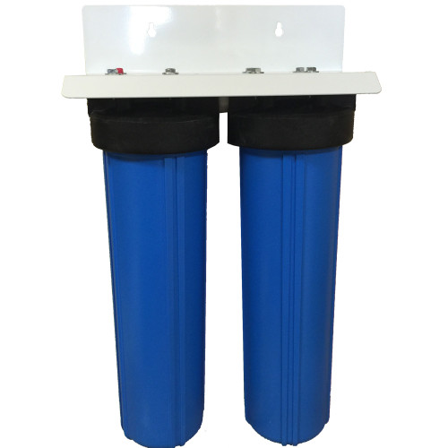 20-inch Two Canister Big Blue Sediment and AdEdge Bayoxide E33 Arsenic Filter