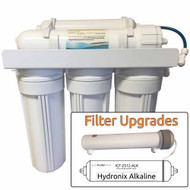 7-Stage UV+Alkaline Zoi Iota Pure Reverse Osmosis System - Sterilizes & Alkalizes Water