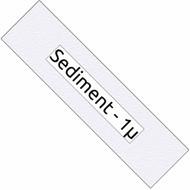 10-inch Sediment Filter - 1-micron