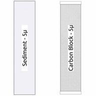 20-inch Big Blue 2 Stage Filter Kit