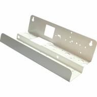 Triple Canister Steel PUMP Bracket for 3 Slimline Filter Housings - U-shaped