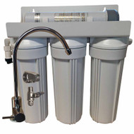 4 Stage 10-inch Drinking Water Filter for Sediment, Lead, Iron, Chlorine, Chemicals, and Odors with UV Sterilizer