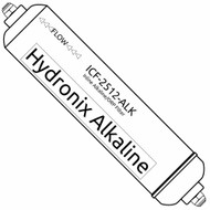 Inline Alkaline Filter - Increases pH & Alkalinity, Adds Numerous Minerals, and Lowers ORP